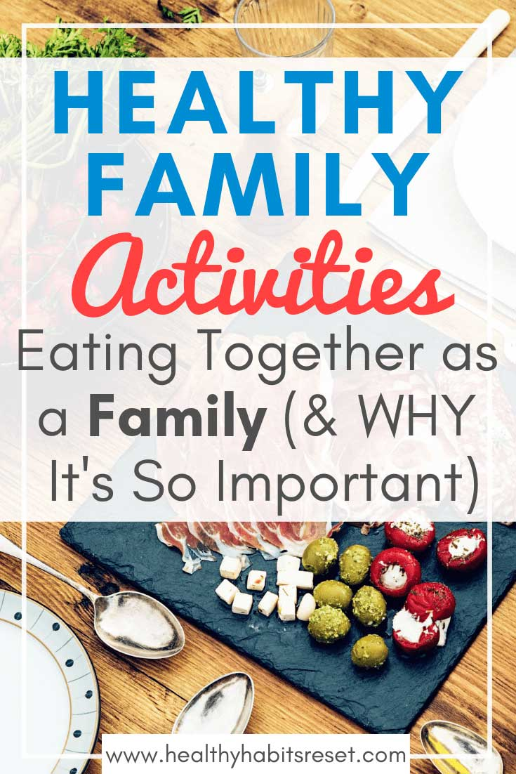 Eating together as a family is a simple, but often overlooked family ritual. The benefits are backed by scientific studies with impressive results, and are also rooted within Biblical scripture. It's time to let go of over-packed, busy schedules and start enjoying the simplicity of this family mealtime tradition. #raisinghealthykids #healthykidstips #eatingtogether #familygoals