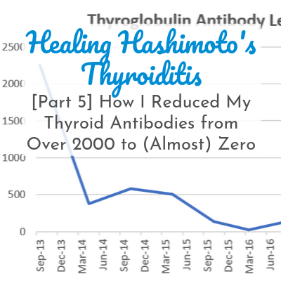 How I Reduced My Thyroid Antibodies from Over 2000 to (Almost) Zero